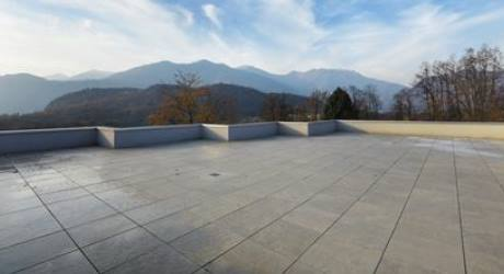 Terrazzo di proprietà esclusiva a copertura parcheggio ...